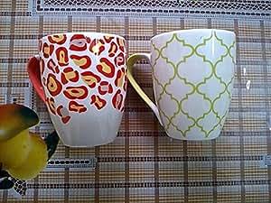 BHARAT Fine Bone China MILK MUG/ COFFEE MUGS (SET OF 2)