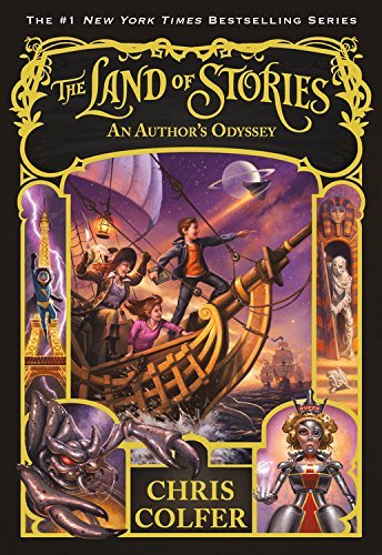 An Author's Odyssey (The Land of Stories) por Chris Colfer