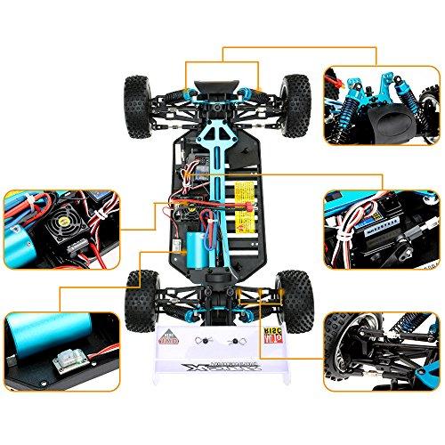 RC Buggy kaufen Buggy Bild 1: Ursprünglich HSP 94107PRO 1 10 4WD elektronische angetriebene bürstenlose Motor RTR offroad Buggy & 2,4 GHz Fernbedienung*
