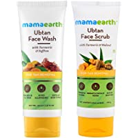 Mamaearth Tan Removal Combo(Ubtan - Face Wash 100ml + Face Scrub 100g)