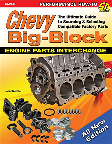 Chevy Big-Block Engine Parts Interchange: The Ultimate Guide to Sourcing and Selecting Compatible Factory Parts (English Edition) Factory Repair Manual