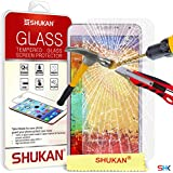 Samsung Galaxy Note 3 Tempered Glass Crystal Clear LCD Screen Protector Guard & Polishing Cloth GSVL37 BY SHUKAN®, (SG Note 3)