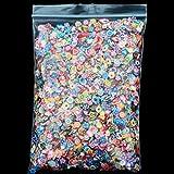 BrilliantDay 10000 Piezas 3d Carino clavo de arte Cañas de Fimo palo pegatinas caras del gel Decoración del Manicura #2