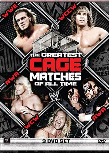 WWE - The Greatest Cage Matches of All Time [3 DVDs] Wrestling Steel Cage