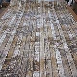 Stoff Meterware Bretter Holz Zaun Shabby vintage Paneele Fotodruck