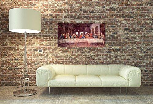 ArtPlaza Da Vinci Leonardo – The Last Supper, Dekorative Paneele, Holz, Mehrfarbig, 100 x 1.8 x 50 cm