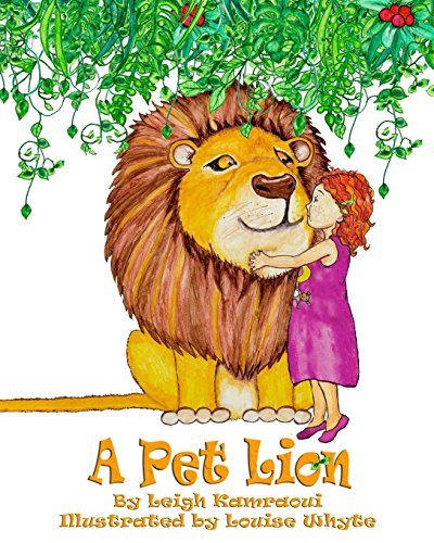 A Pet Lion por Leigh Kamraoui