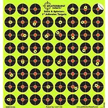 Splatterburst Targets - 10 pack 2.54 cm Stick & Splatter Self Adhesive Reactive Shooting Targets - Gun - Rifle - Pistol - AirSoft - BB Gun - Pellet Gun - Air Rifle