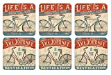 Pimpernel Beautiful Ride Coasters - Set of 6