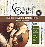 Collect orguitar Corde Della Chitarra Da Concerto 66ht Classic Silver Guitar Strings Nylon Core - High Tension