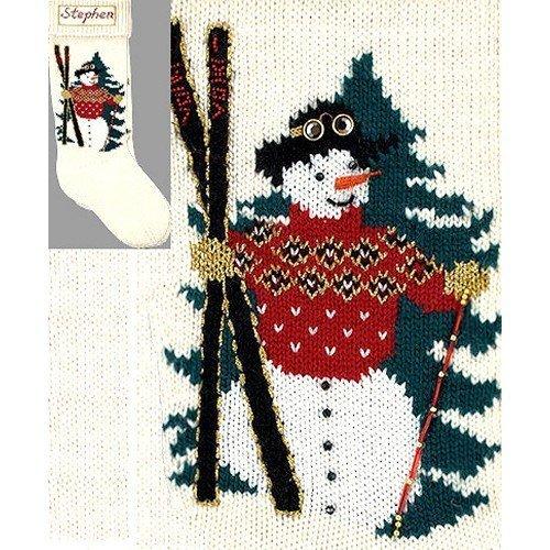 (Elegant Heirlooms Christmas Stocking Kit Ski Man by Elegant Heirlooms Christmas Stockings Kits)