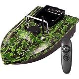 ZJRA Barco de Cebo de Pesca Inteligente, lámpara de señuelo para Peces, Control Remoto de 500 m, Herramienta de Pesca asistid