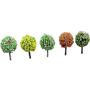 2x Milopon Mini Gartendeko Micro Landschaft Deko Miniatur Schiff aus Harz f/ür Puppenhaus Puppenhausm/öbel Gartenm/öbel Deko Garten