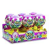 Pikmi Pops–Pack 6sucettes avec 2Peluches Scentos Parfumés + Surprises, Multicolore (Giochi Preziosi pkm02000a)