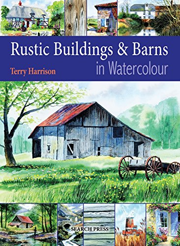 Rustic Buildings and Barns in Watercolour Cover Image