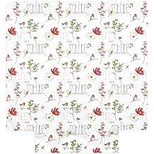 Funda de edredón de 240x 220cm Percal Pur algodón Pure Nature color blanco