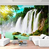 SENSATIONSPREIS !!! Fototapete Wasserfall 352 x 250 cm - Vliestapete - Wandtapete - Vlies Phototapete - Wand - Wandbilder XXL - !!! 100% MADE IN GERMANY !!! Runa Tapete 9006011b