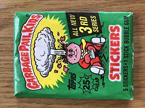 garbage-pail-kids-1986-topps-series-3-1-pack-rare