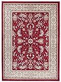 Grande Tapis d'Orient - Rouge Beige - Motif Persan Traditionnel et Oriental - Tapis...