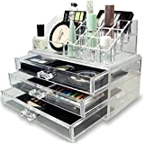 Styleys Natural Acrylic Jewellery Storage Boxes