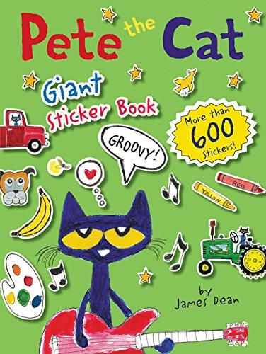 Pete the Cat Giant Sticker Book por James Dean