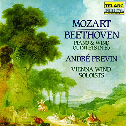 Mozart & Beethoven: Piano & Wind Quintets (Piano Wind)