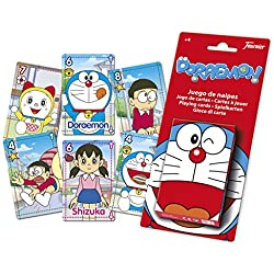 Doraemon - Baraja infantil con 40 cartas (Naipes Heraclio Fournier 1028533)