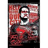 "Póster Batman vs Superman ""False God/Dios Falso"" (61cm x 91,5cm)"