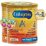 Enfagrow A+ Nutritional Milk Powder Health Drink for Children (2+ years), Vanilla 400g (Pack of 2)