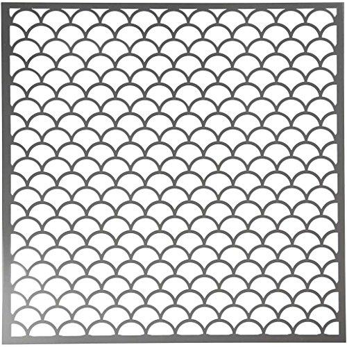 Schablone Größe 30,5x30,5 cm Wellen 1 Blatt (Schablone Große Welle)