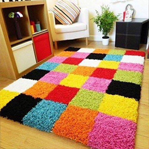 HOMECRUST 5D Shaggy Fur Carpets for Home Living Room/Rugs - 3 x...