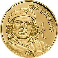 CHE GUEVARA Ernesto Serna Cuba Argentina Gold Münze 1000 Togrog Mongolia 2018