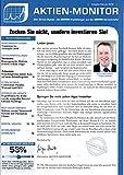 Aktien Monitor 2 2018 Traumstart Amazon Siemens Zeitschrift Magazin Einzelheft Heft Börsenbrief