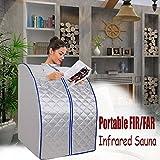 Iglobalbuy FIR / infrarrojo lejano sauna que adelgaza de habitaciones bajar de peso Sauna