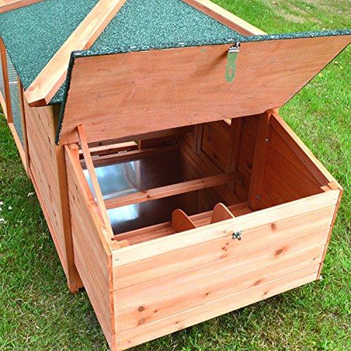 Zooprimus Hühnerstall 39 Geflügelhaus – OREO – Stall für Außenbereich (für Kleintiere: Hühner, Geflügel, Vögel, Enten usw.) - 7