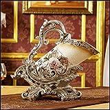 Longgu creativo resina vino rack arredamento retrò ristorante decorazione ornamenti artigianato europeo vino del lusso mobili A