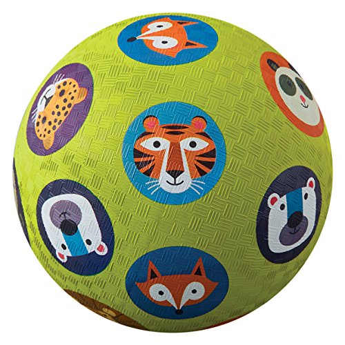Crocodile Creek - Jungle Jamboree Playground Ball, Color Verde Lima, 5