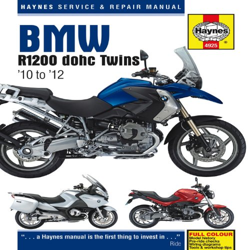 BMW R1200 Dohc Air-cooled Service and Repair Manual