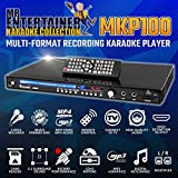 Mr Entertainer MKP100 Karaoke Reproductor de DVD, con dos micrófonos