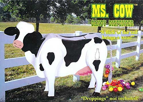 NorthLight Ms. Cow Tiny-minded Candy Dispenser Funny Toy - Poops Candy by Scaasis