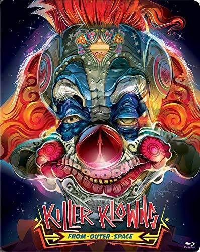 Killer Klowns from Outer Space (Steelbook) [Blu-ray] (Outer Killer Klowns From Space)