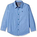 Allen Solly Junior Boys' Checkered Cotton Shirt