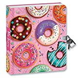 Peaceable Kingdom Donut Lockable Journal / Diary