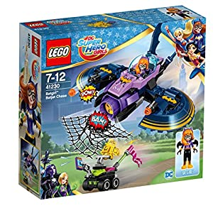 LEGO DC Super Hero con fidential Girls Ip Vehicle Costruzioni Piccole Gioco Bambina, Multicolore, 41230 LEGO DC Super Heroes LEGO