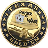 "Poker Card guard ""Poker is era"" muy chapado en oro"