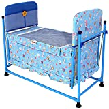 Furncoms 1035 Baby Cradle Bed with Mosqu...