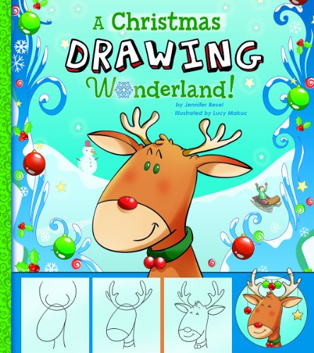 A Christmas Drawing Wonderland! (Activity Book)