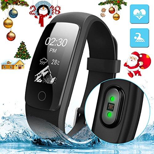 Armband Aktivität miuvei Intelligentes Armband mit GPS für Laufen, gesundheitsniveau cardiorrespiratoria, Führer der Atmung, Monitor Herzfrequenz und Traum, wasserdicht 67Für iOS und Android