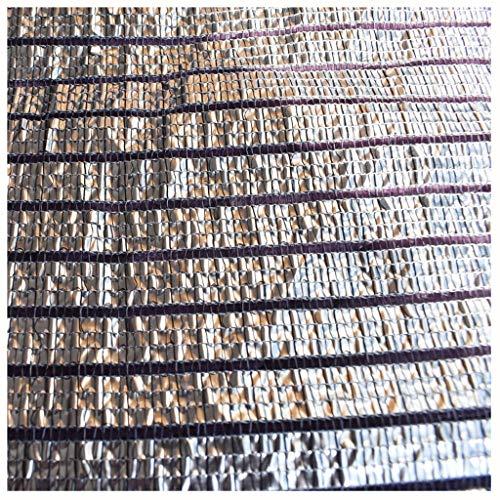 LLGL Silver White Shade Net Reflective Foil Aluminium Shade Net Planta Flor  Balcón Patio Villa Shade Shade Net (Size : 3m*8m)