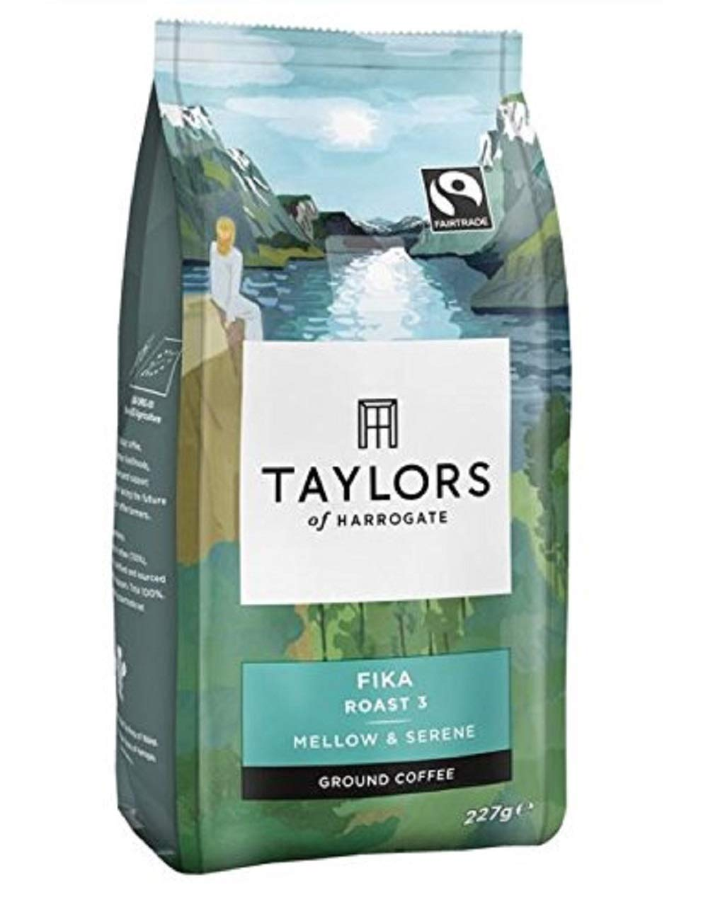 Taylors of Harrogate Fairtrade Organic Fika Ground Coffee, 227 g